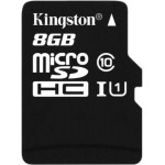 Kingston micro SDHC (class 10) 8 Gb (SDC 10/ 8GBSP)
